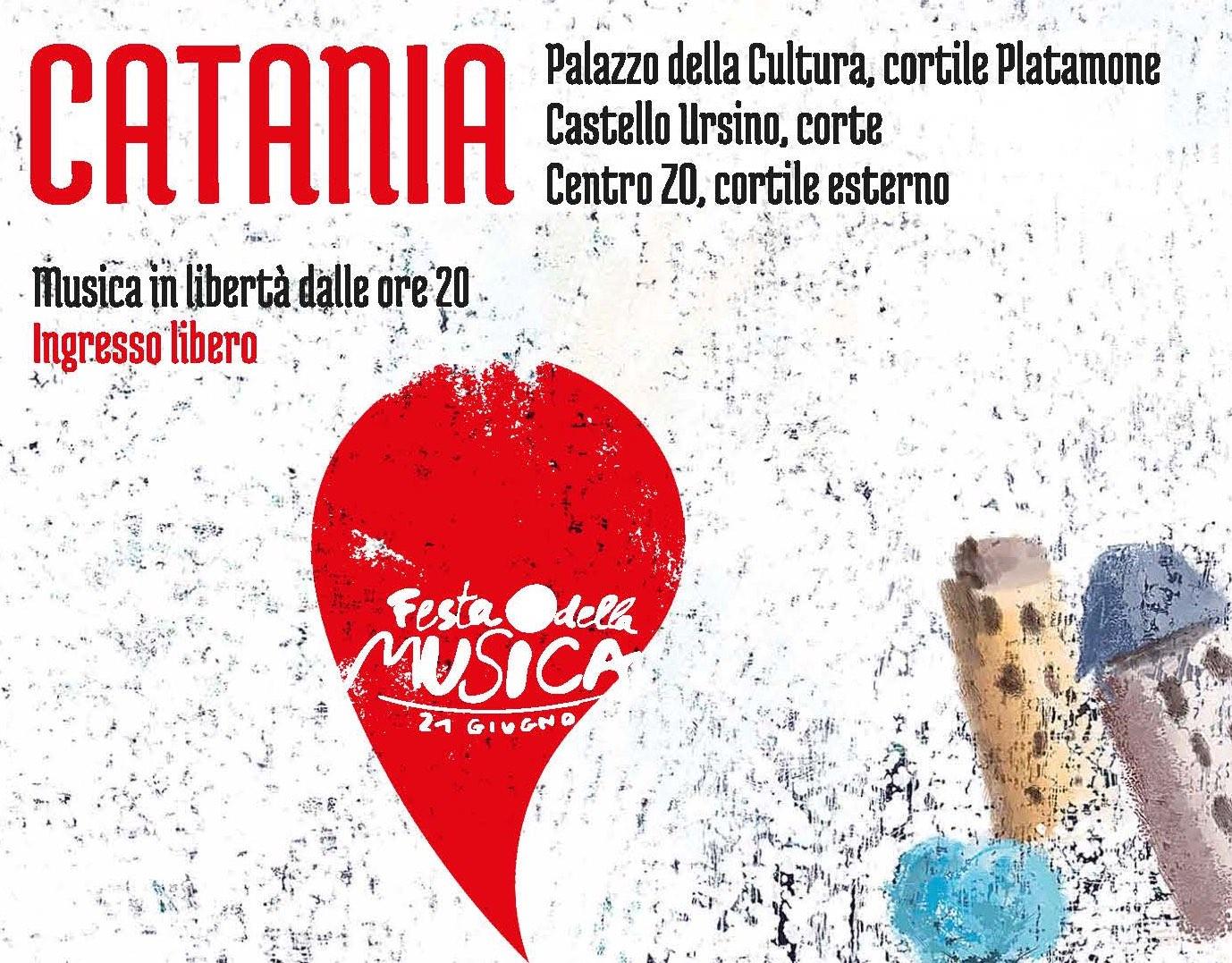 21 giugno – Festa della Musica europea a Catania