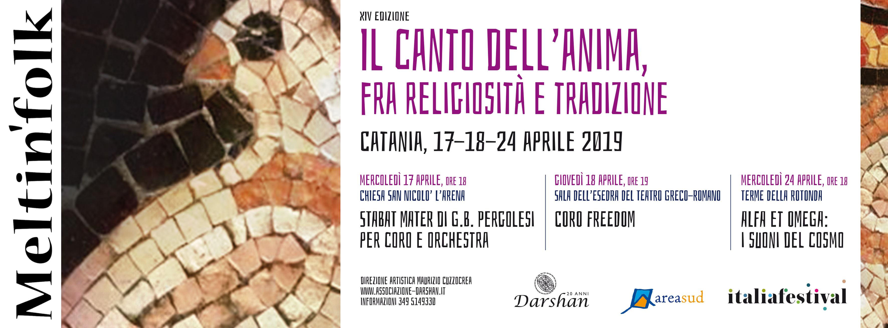 17/24 apr – MELTIN'FOLK a Pasqua a Catania
